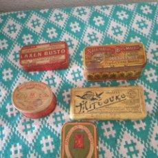 Cajas y cajitas metálicas: LOTE DE LATAS DE METAL DE MEDICAMENTOS. Lote 151746358