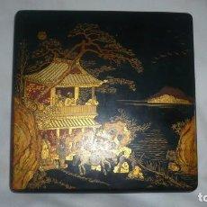 Cajas y cajitas metálicas: CAJA JAPONESA VINTAGE. Lote 151892350