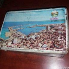 Cajas y cajitas metálicas: NOVELDA ALICANTE JORGE ROMERO AZAFRANES.. Lote 152627506