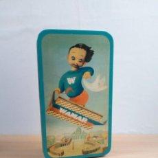 Cajas y cajitas metálicas: CAJA DE CHAPA ITALIANA. Lote 153875070