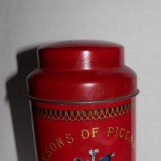 Cajas y cajitas metálicas: LATA TÉ JACKSONS OF PICCADILLY. Lote 154203094