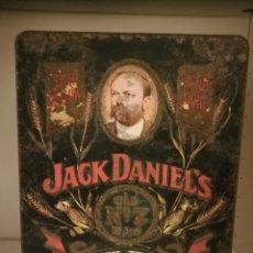 Cajas y cajitas metálicas: CAJA METAL JACK DANIEL'S WHISKEY OLD TIME TENESSEE. Lote 154424368
