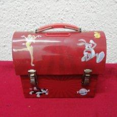 Cajas y cajitas metálicas: CAJA METALICA / HUCHA LOONEY TUNES. Lote 154767889