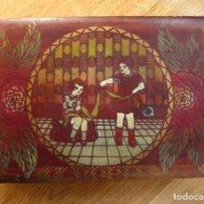 Cajas y cajitas metálicas: CAJA DE MADERA. ÉPOCA DE LA SEGUNDA REPÚBLICA. Lote 155174486