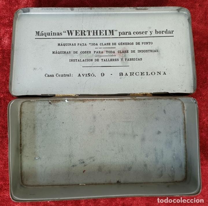 Cajas y cajitas metálicas: PAREJA DE CAJAS DE HOJALATA SERIGRAFIADAS. PRINCIPIOS SIGLO XX. - Foto 3 - 155774214