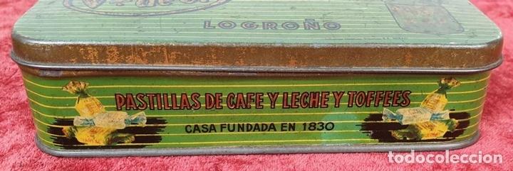 Cajas y cajitas metálicas: PAREJA DE CAJAS DE HOJALATA SERIGRAFIADAS. PRINCIPIOS SIGLO XX. - Foto 11 - 155774214