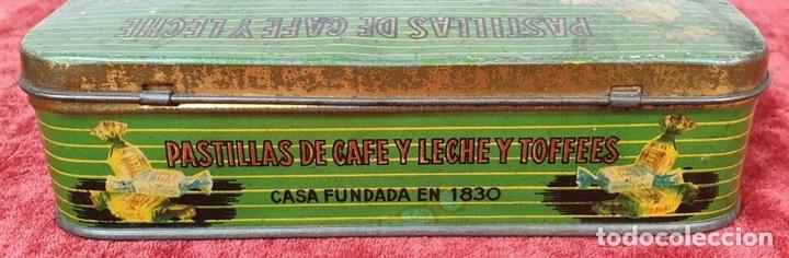 Cajas y cajitas metálicas: PAREJA DE CAJAS DE HOJALATA SERIGRAFIADAS. PRINCIPIOS SIGLO XX. - Foto 14 - 155774214
