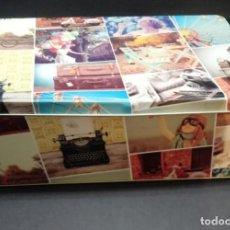 Cajas y cajitas metálicas: CAJA DE HOJALATA LITOGRAFIADA. Lote 155786338