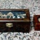 Cajas y cajitas metálicas: DOS CAJAS CHINAS. Lote 155849698