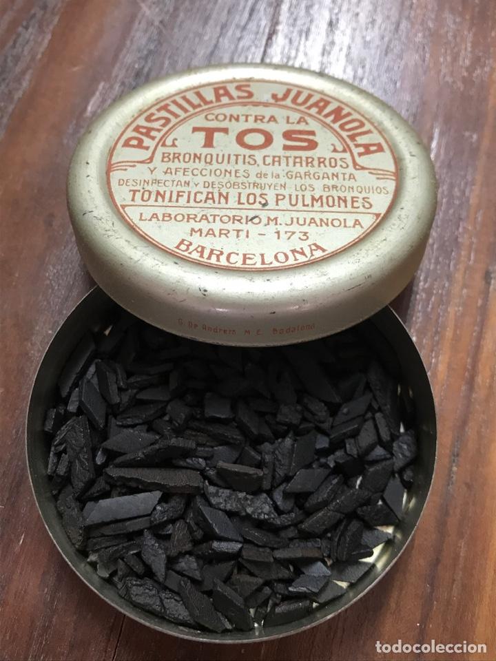 Cajas y cajitas metálicas: Caja Pastillas Juanola Años 20 - Foto 2 - 156113796