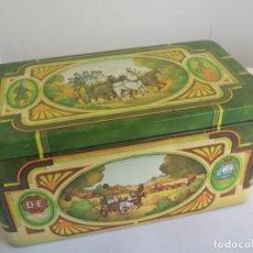 Cajas y cajitas metálicas: CAJA DE METAL, LATA, DE TE. PICKWICK THEE. DOUWE EGBERTS. TEA. . TIN BOX. Lote 156560870