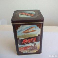 Cajas y cajitas metálicas: CAJA DE METAL, LATA, MARS. TIN BOX. Lote 156561666