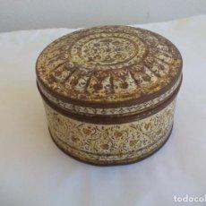 Cajas y cajitas metálicas: CAJA DE METAL, LATA, CONTAINER MADE IN HOLLAND. TIN BOX. Lote 156662142