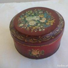 Cajas y cajitas metálicas: CAJA DE METAL, LATA. BARRINGER WALLIS AND MANNERS, MANSFIELD ENGLAND, TIN BOX. Lote 156662746