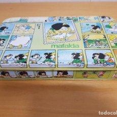 Cajas y cajitas metálicas: ESTUCHE METALICO DE DIBUJO/ MAFALDA (QUINO - SENFORT, S.A.) / 31 X 18 CM/ ¡¡NUEVA Y COMPLETA!!!!. Lote 156666414