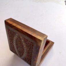 Cajas y cajitas metálicas: CAJA MADERA . Lote 156901138