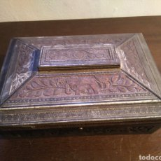 Cajas y cajitas metálicas: HUNTLEY Y PALMERS. CAJA DE METAL ORIGINAL ENGLAND.. Lote 157002433