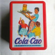 Cajas y cajitas metálicas: LATA COLA CAO. Lote 157986618