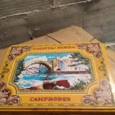 Cajas y cajitas metálicas: CAJA GALLETAS METALICA BIRBA. Lote 158149066