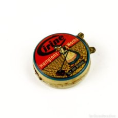 Cajas y cajitas metálicas: ANTIGUA CAJITA METAL LITOGRAFIADO -CIRINE, ALEMANIA. Lote 158665162