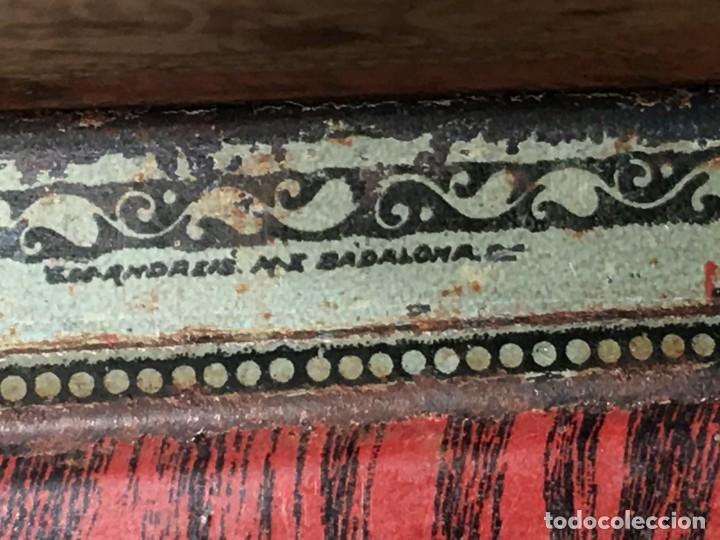 Cajas y cajitas metálicas: CAJA DE HOJALATA G. DE ANDREIS BADALONA - Foto 8 - 159693518