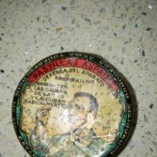Cajas y cajitas metálicas: CAJITA METALICA PASTILLAS ASPAIME. Lote 159783542