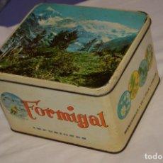 Cajas y cajitas metálicas: ANTIGUA - VINTAGE - CAJA DE LATA / HOJALATA - FORMIGAL INFUSIONES - MANUFACTURAS JOSABA - ENVÍO 24H. Lote 160177806