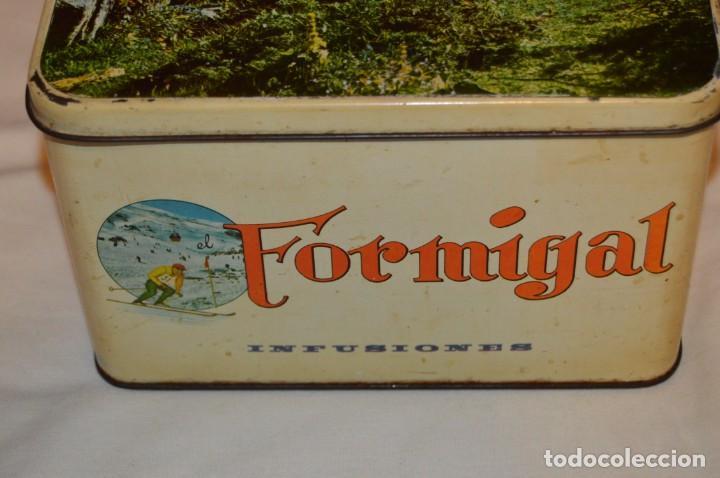 Cajas y cajitas metálicas: ANTIGUA - VINTAGE - CAJA DE LATA / HOJALATA - FORMIGAL INFUSIONES - MANUFACTURAS JOSABA - ENVÍO 24H - Foto 3 - 160177806