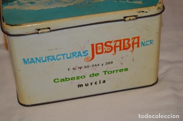 Cajas y cajitas metálicas: ANTIGUA - VINTAGE - CAJA DE LATA / HOJALATA - FORMIGAL INFUSIONES - MANUFACTURAS JOSABA - ENVÍO 24H - Foto 5 - 160177806