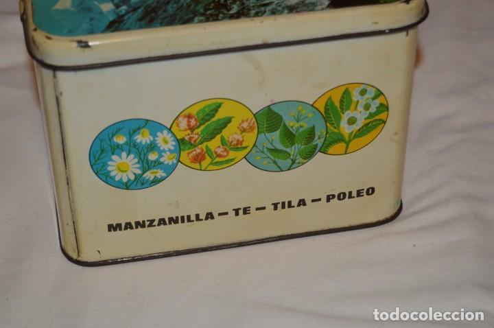 Cajas y cajitas metálicas: ANTIGUA - VINTAGE - CAJA DE LATA / HOJALATA - FORMIGAL INFUSIONES - MANUFACTURAS JOSABA - ENVÍO 24H - Foto 6 - 160177806