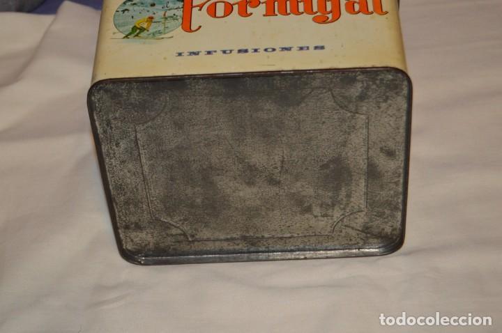 Cajas y cajitas metálicas: ANTIGUA - VINTAGE - CAJA DE LATA / HOJALATA - FORMIGAL INFUSIONES - MANUFACTURAS JOSABA - ENVÍO 24H - Foto 7 - 160177806
