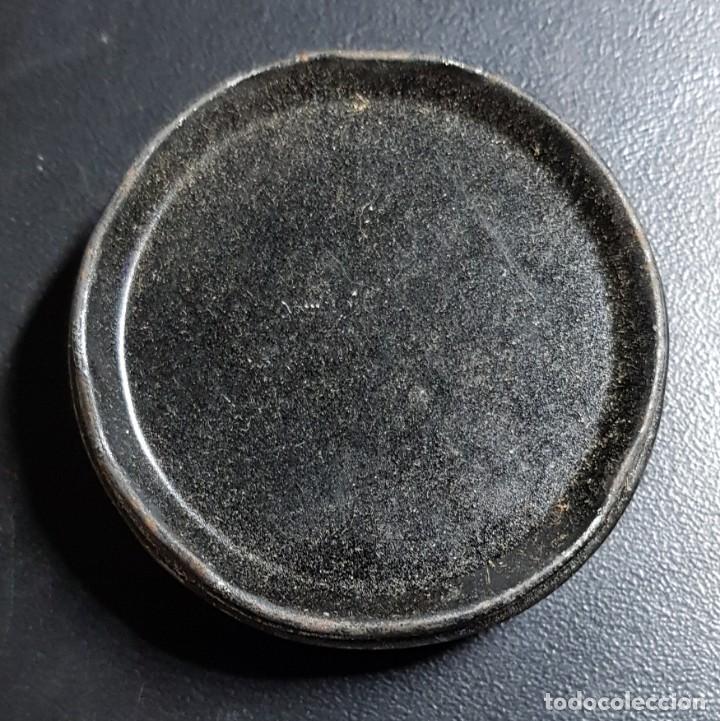 Cajas y cajitas metálicas: Antigua caja de betun SERVUS - Foto 2 - 160242110