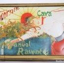 Cajas y cajitas metálicas: CAJA DE METAL PARA BOTELLAS DE CAVA - CODORNÍU, MANUEL RAVENTÓS - ESTILO MODERNISTA - #LRV. Lote 160354602