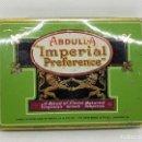 Cajas y cajitas metálicas: ANTIGUA CAJA METAL DE TABACO - ABDULLA IMPERIAL PREFERENCE - CAR142. Lote 160537790