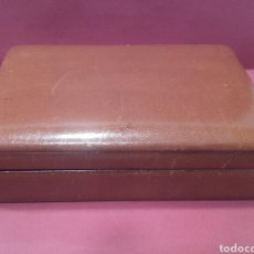 Cajas y cajitas metálicas: CAJA DE RELOJ OMEGA. Lote 161384812