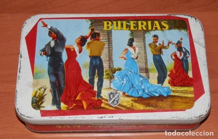 LATA ANTIGUA SAN PASCUAL DE PUENTE GENIL (Coleccionismo - Cajas y Cajitas Metálicas)