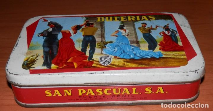 Cajas y cajitas metálicas: LATA ANTIGUA SAN PASCUAL DE PUENTE GENIL - Foto 2 - 161692010