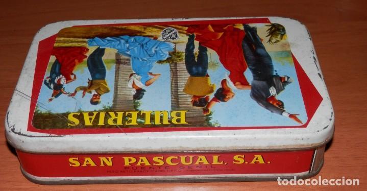 Cajas y cajitas metálicas: LATA ANTIGUA SAN PASCUAL DE PUENTE GENIL - Foto 5 - 161692010