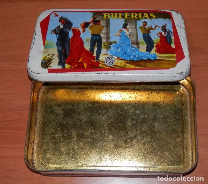 Cajas y cajitas metálicas: LATA ANTIGUA SAN PASCUAL DE PUENTE GENIL - Foto 6 - 161692010