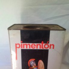 Cajas y cajitas metálicas: PIMENTON EL CENTURION - LATA METALICA VACIA (ESPINARDO-MURCIA).....ZXY. Lote 162695294