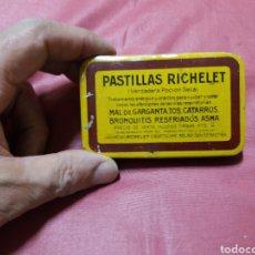 Cajas y cajitas metálicas: PASTILLAS RICHELET. Lote 163586068