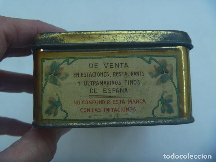 Cajas y cajitas metálicas: CAJA DE METAL DE PASTILLAS DE CAFE CON LECHE DE SOLANO, LOGROÑO. PRINCIPIOS DE SIGLO - Foto 3 - 164009754