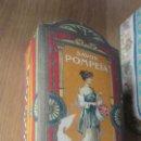 Cajas y cajitas metálicas: ANTIGUA CAJA DE CARTON.SAVON POMPEIA.L.T PIVER.PARIS. JABON FRANCES.AÑOS 20. Lote 165105774