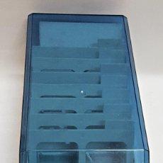 Cajas y cajitas metálicas: CAJA ARCHIVADORA DE CD/DVD DE LA MARCA SONY, CON SEPARADORES.. Lote 165110750