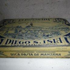Cajas y cajitas metálicas - CAJA DE HOJALATA ,RICA PASTA DE MANZANA ,DE POMARADA - 165243758