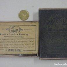 Cajas y cajitas metálicas: CAJITA DE ALUMINIO BARNIZ. Lote 165351274