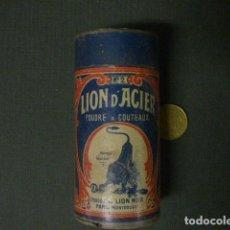 Caixas e caixinhas metálicas: CAJA DE LION D ´ACIER. Lote 165495442