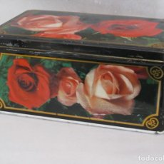 Cajas y cajitas metálicas: CAJA METÁLICA COLA CAO . Lote 165649670