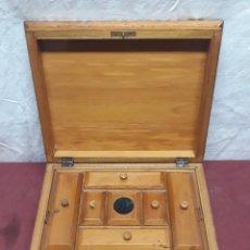 Cajas y cajitas metálicas: CAJA COSTURERO... MARQUETERIA... CO XX . Lote 165863618