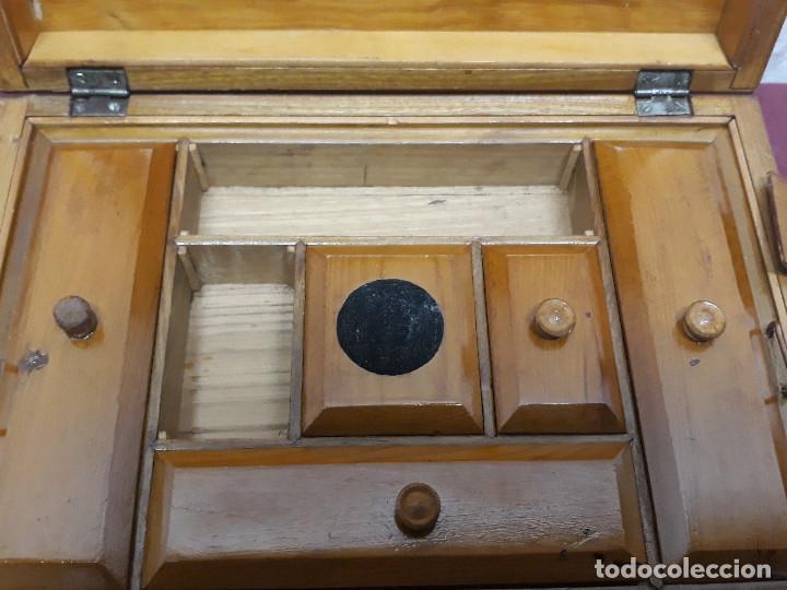 Cajas y cajitas metálicas: CAJA COSTURERO... MARQUETERIA... CO XX - Foto 4 - 165863618